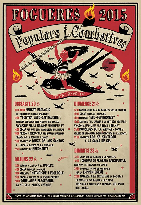 fogueres combatives 2015